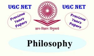 UGC NET Philosophy Previous Years Question Papers